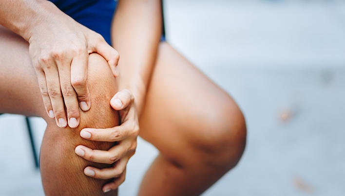 În genunchi doare când alergi, de...