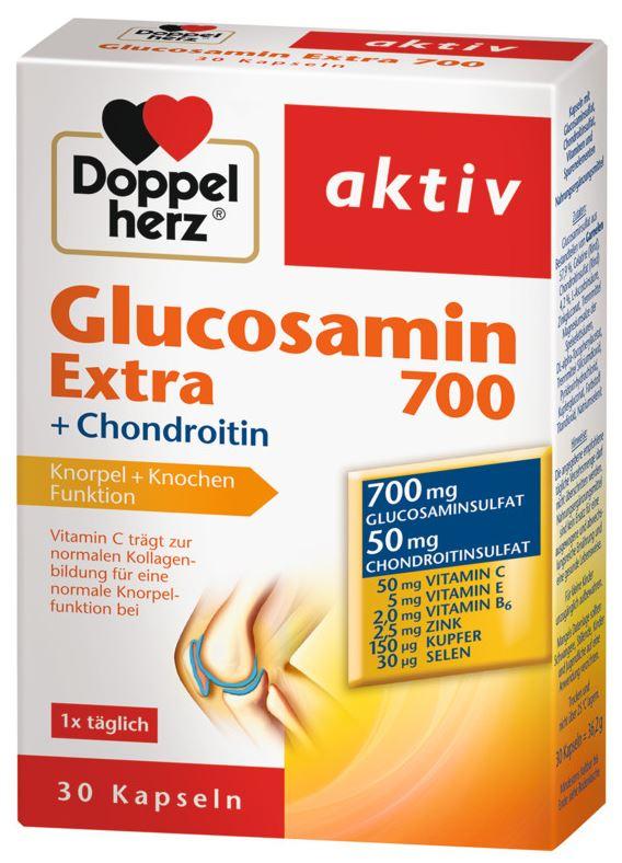doppel herz glucosamina condroitină a tras o articulație decât să trateze