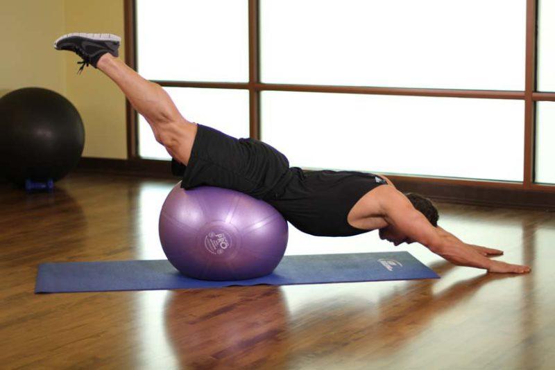 Exerciții de fitball pentru dureri articulare