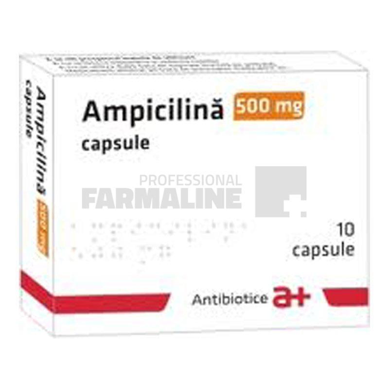 dureri articulare ampicilină
